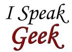 I Speak Geek, red