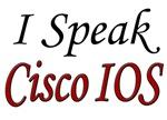 I Speak Cisco IOS, red