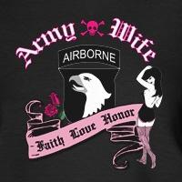 Airborne Wife Punk Tattoo Art