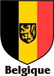 Belgique Flag Shield / Belgium Crest