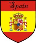 Spain Flag Crest Shield