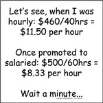 Salaried is better, right?