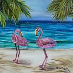 Loving Pink Flamingos