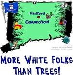 CT - More White Folks Than Trees!
