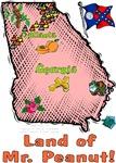 GA - Land of Mr. Peanut! (1956 flag)