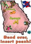 GA - Bend over, insert peach! (1956 flag)