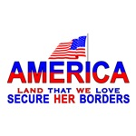 Flag Secure Our Borders
