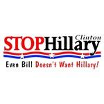 Stop Hillary (even Bill)