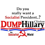 Socialist Hillary Clinton