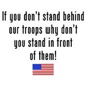 Patriotic: Stand Behind Our Troops