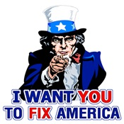 Uncle Sam: I Want You To Fix America