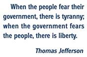 Tyranny / Liberty