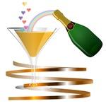 Champagne Party Celebration