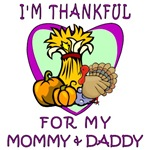 Thankful For Mommy & Daddy Tee's and Gifts