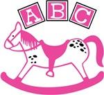 Baby Girl Rocking Horse Themes