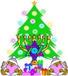 Christmas and Hanukkah Family
