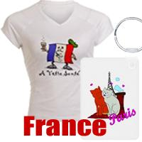 France t-shirts and gifts