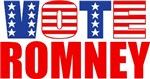 Vote Romney (Stars & Stripes)