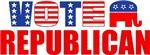 Vote Republican (Stars & Stripes)