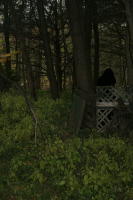 Cloaked Figure Photography