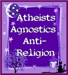 ATHEIST, AGNOSTIC, ANTI-RELIGION,FREE THINKERS