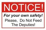 Notice / Deputies