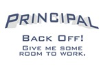 Principal / Back Off