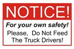 Notice / Truck Drivers