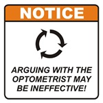 Optometrist / Argue