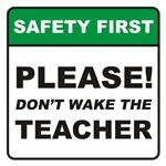 Teacher / Wake