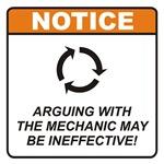 Mechanic / Argue