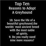 Save a life Adopt a Greyhound
