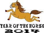 Year of The Horse 2014 Cute T-Shirts