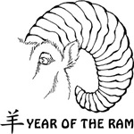 Year of The Ram T-Shirts Gifts