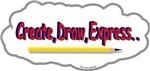 Create,Draw,Express