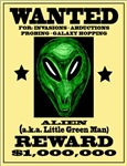 Wanted Alien