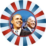 OBAMA BIDEN Badge