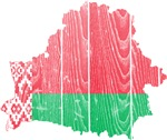 Belarus Flag And Map