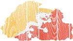 Bhutan Flag And Map