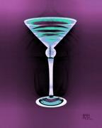 Martini Glass Posters