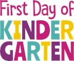 First Day of Kindergarten (Girls)
