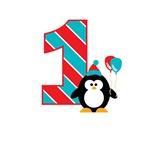 Penguin 1st Birthday