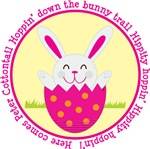 Peter Cottontail Girl Easter