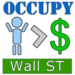 Occupy Wall Street People Over Money