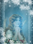 Angel with Snowflakes