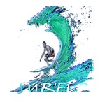 surfer art illustration