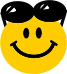 Perched Sunglasses Smiley