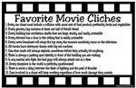 Movie Cliches - Complete List