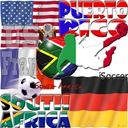 Country- and Soccer Flags