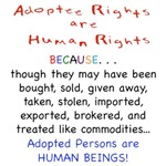 Adoptee Rights are Human Rights